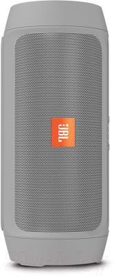 Портативная колонка JBL Charge 2 Plus (серый)