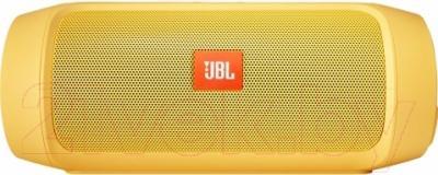 Портативная колонка JBL Charge 2 Plus (желтый)