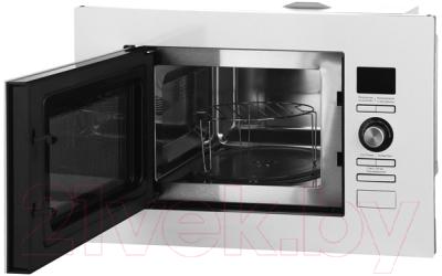 Микроволновая печь Midea AG820BJU-WH - с открытой дверцей