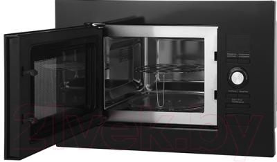 Микроволновая печь Midea AG820BJU-BL - с открытой дверцей