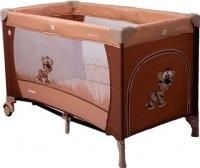 Кровать-манеж Coto baby Samba Proste 2016 (11/коричневый) -
