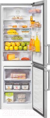 Холодильник с морозильником Beko RCNK321K21S
