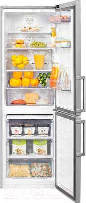 Холодильник с морозильником Beko RCNK321E21S
