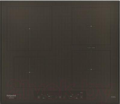 Индукционная варочная панель Hotpoint KIA 641 B B (CF)
