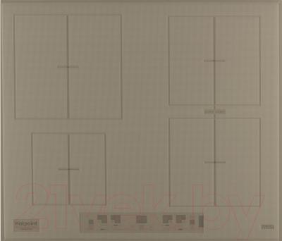 Индукционная варочная панель Hotpoint KIA 641 B B (DS)