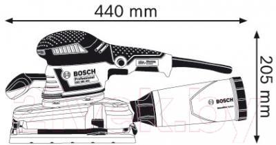 Профессиональная виброшлифмашина Bosch GSS 280 AVE (0.601.292.902)