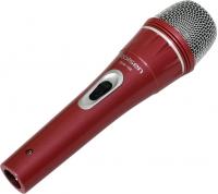Микрофон Rolsen RDM-100R (красный) -