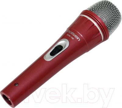 Микрофон Rolsen RDM-100R (красный)