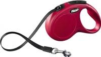 Поводок-рулетка Flexi New Classic L 8m (ремень красный) -