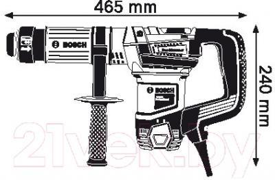 Профессиональный отбойный молоток Bosch GSH 501 Professional (0.611.337.020)