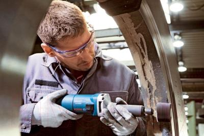 Профессиональная прямая шлифмашина Bosch GGS 8 SH (0.601.214.300)