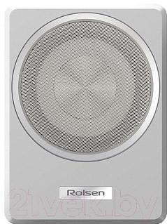 Корпусной активный сабвуфер Rolsen RSB-A82S (серебро)