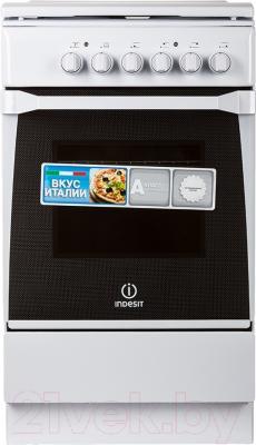 Кухонная плита Indesit KN1E17(W)/RU