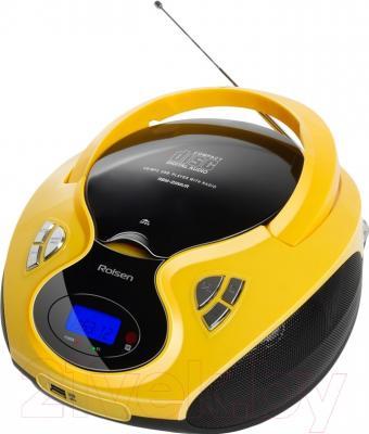 Магнитола Rolsen RBM-211MUR (желтый)