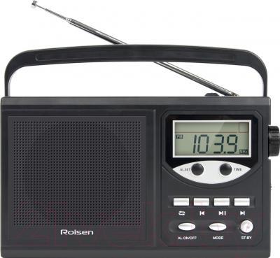 Радиоприемник Rolsen RBM217BL  (черный)