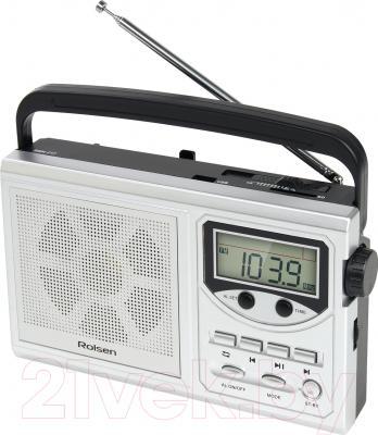 Радиоприемник Rolsen RBM217SL  (серебристый)