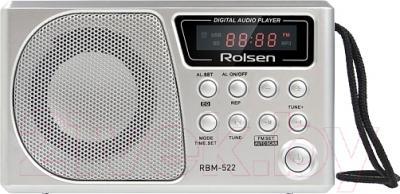 Радиоприемник Rolsen RBM522SL  (серебристый)