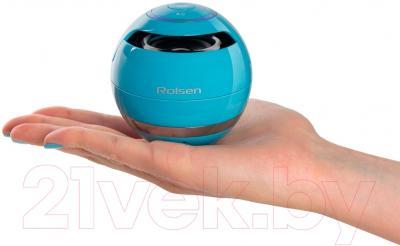 Портативная колонка Rolsen RBM-611BT-BU (синий)