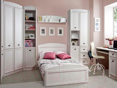 Односпальная кровать Black Red White Salerno B18-LOZ/120 (белый)