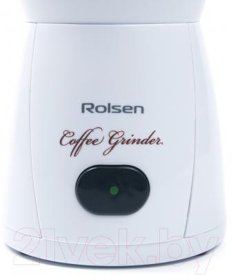 Кофемолка Rolsen RCG-150 (белый)