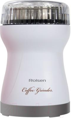 Кофемолка Rolsen RCG-151 (белый)