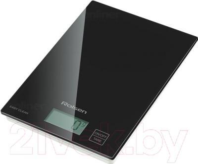 Кухонные весы Rolsen KS-2907 (черный)