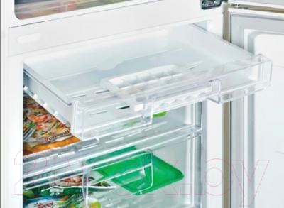 Холодильник с морозильником LG GA-M409SERL
