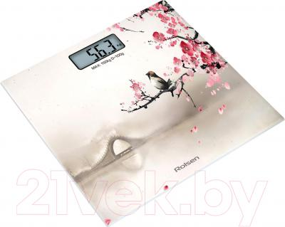 Напольные весы электронные Rolsen RSL1519 Sakura