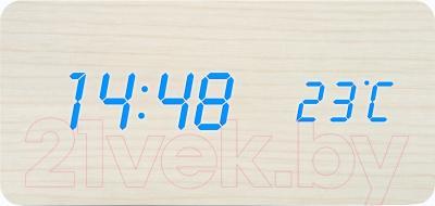 Электронные часы Rolsen CL-112 (белый)