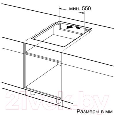 Электрическая варочная панель Bosch PIE611BB1E