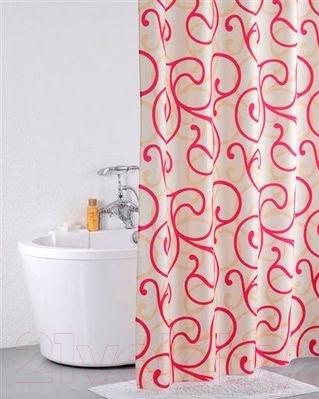 Текстильная шторка для ванной Iddis 411P20RI11