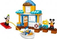 Конструктор Lego Duplo Микки и его друзья: Домик на пляже 10827 -