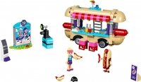 Конструктор Lego Friends Парк развлечений: Фургон с хот-догами 41129 -