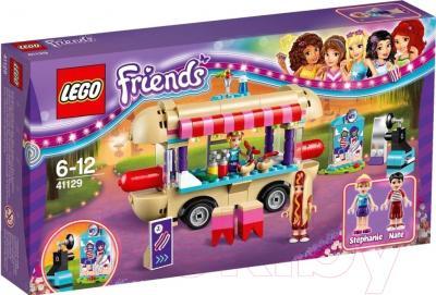 Конструктор Lego Friends Парк развлечений: Фургон с хот-догами 41129