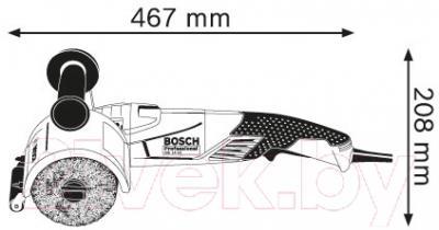 Профессиональная щеточная шлифмашина Bosch GSI 14 CE Professional (0.601.8B1.001)
