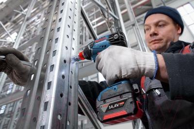 Профессиональный гайковерт Bosch GDX 14.4 V-LI Professional (0.601.9B8.004)