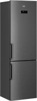 Холодильник с морозильником Beko RCNK356E21X -