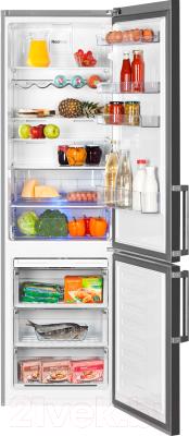 Холодильник с морозильником Beko RCNK356E21X
