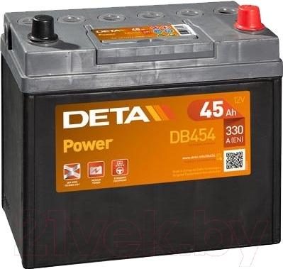 Автомобильный аккумулятор Deta Power DB454 (45 А/ч)