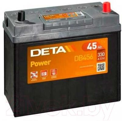 Автомобильный аккумулятор Deta Power DB 456 L (45 А/ч)