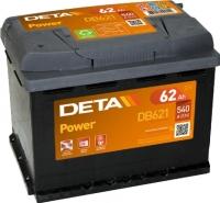 Автомобильный аккумулятор Deta Power DB621 (62 А/ч) -