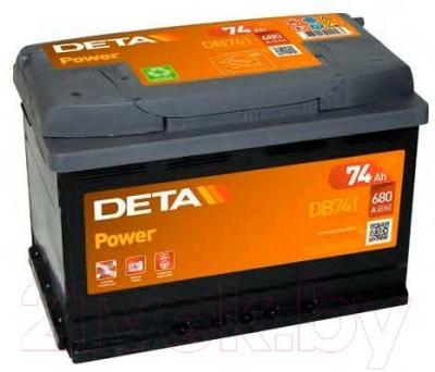 Автомобильный аккумулятор Deta Power DB 741 R (74 А/ч)