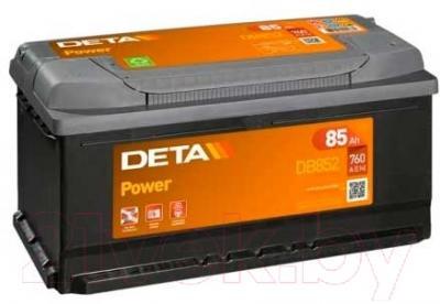 Автомобильный аккумулятор Deta Power DB852 (85 А/ч)