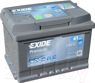 Автомобильный аккумулятор Exide Premium EA612 (61 А/ч)
