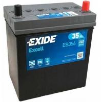 Автомобильный аккумулятор Exide Excell EB356 (35 А/ч) -