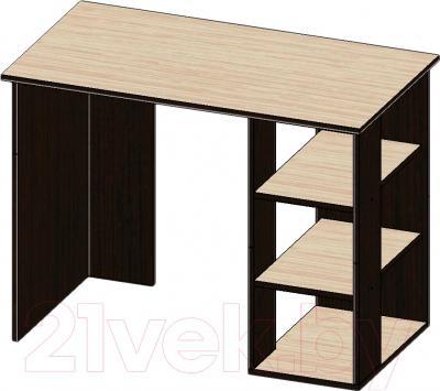Письменный стол Мебель-Класс Имидж-1 (венге/дуб молочный)