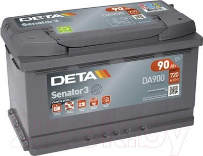 Автомобильный аккумулятор Deta Senator3 DA900 (90 А/ч)