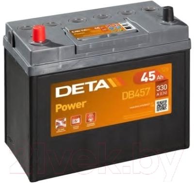 Автомобильный аккумулятор Deta Power DB457 (45 А/ч)