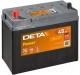 Автомобильный аккумулятор Deta Power DB457 (45 А/ч) -