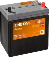 Автомобильный аккумулятор Deta Power DB356 (35 А/ч) -